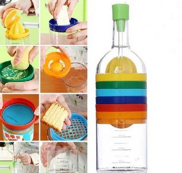 8 in 1 Ultimate Kitchen Bottle - agitra