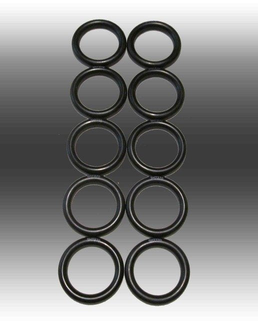 5H7370 - BLACK - NITRILE O-RING (10 PACK) CAN BE USED AS MOTORCYCLE THROTTLE LOCK
