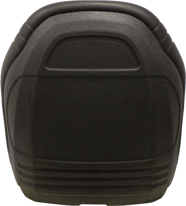 Case Skid Steer Bucket Seat - Fits Various Models - Black Vinyl