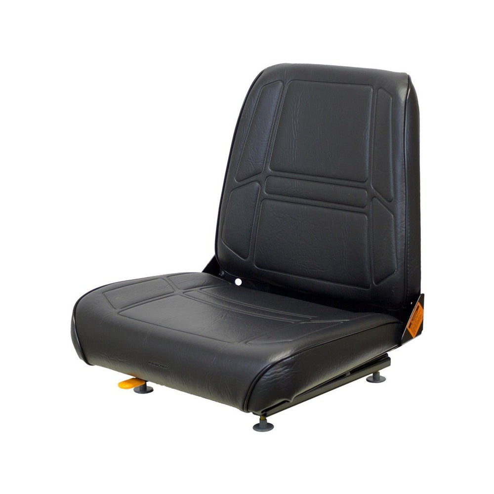 Terramite T5C Loader/Backhoe Seat Assembly - Black Vinyl