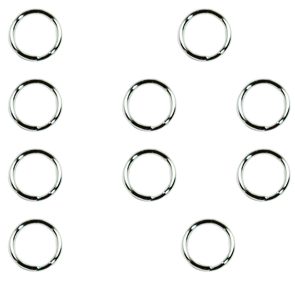 "1/2"" Heavy Duty Split Key Rings - USA (10 PACK)"