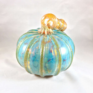 Celadon Blown Pumpkin