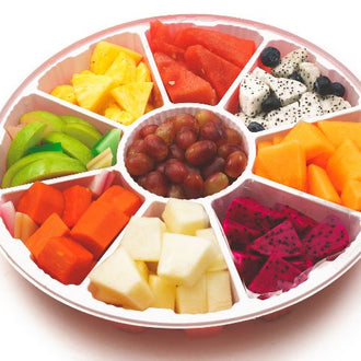 8 Combination mixed fruits (c)  八宝水果拼盘