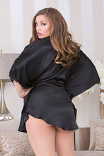 Load image into Gallery viewer, iCollection Batwing Sleeve Robe with Circle Hem - Nomad Bridal