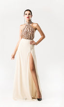 Load image into Gallery viewer, Sequin Halter Gown - Nomad Bridal