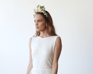 Bridal flower hair accessory - Nomad Bridal