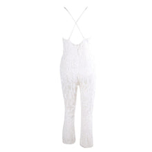 Load image into Gallery viewer, White Jumpsuit - Nomad Bridal