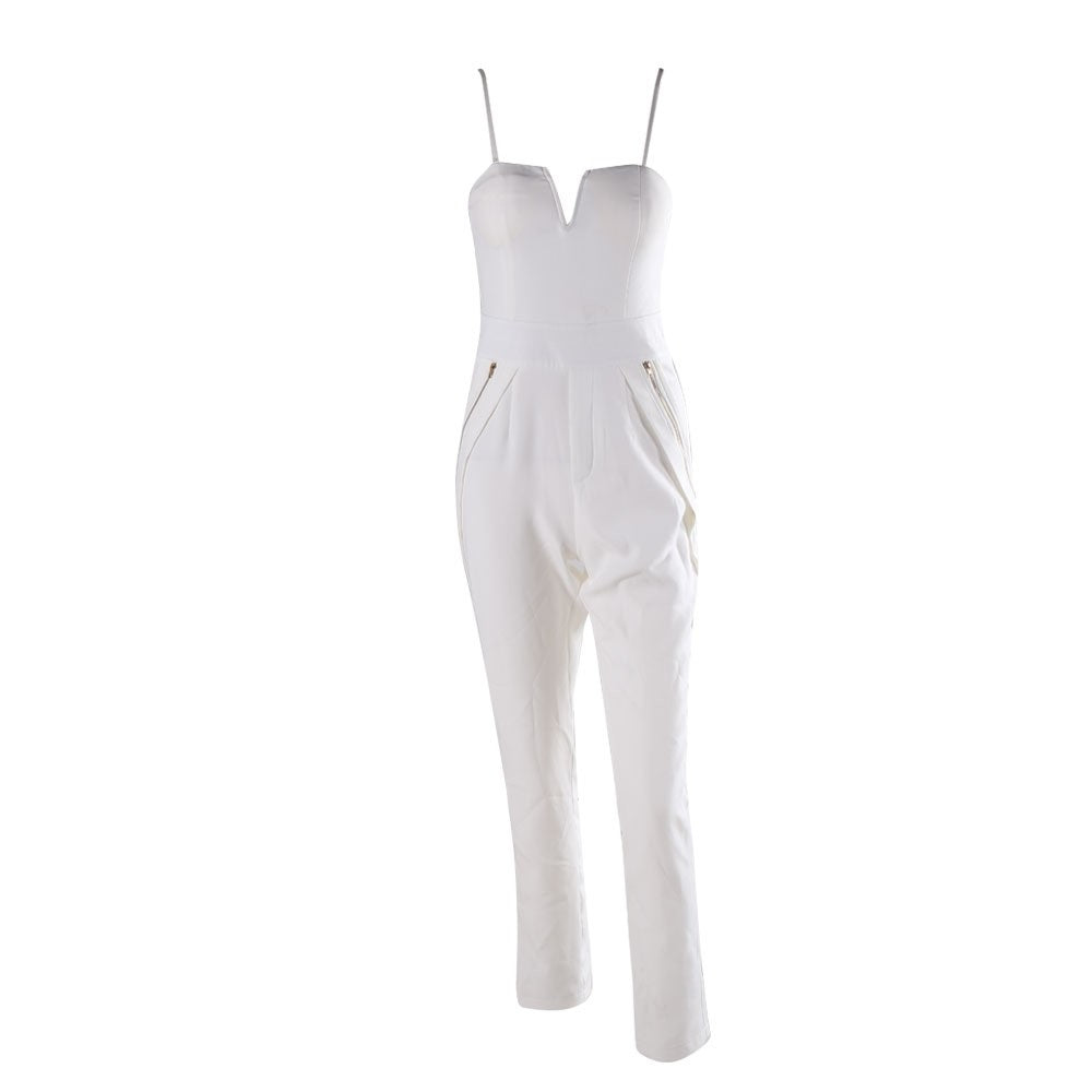 White Jumpsuit - Nomad Bridal