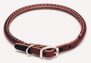 COASTAL CIRCLE T LATIGO LEATHER ROUND COLLAR 3/8X12IN