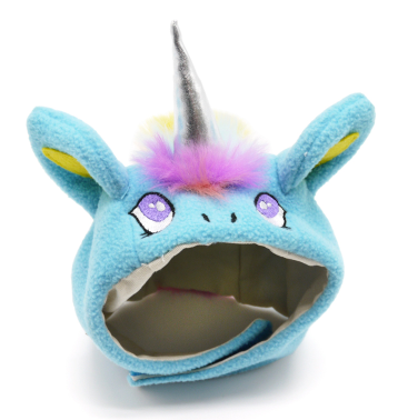 Blue Unicorn Hat
