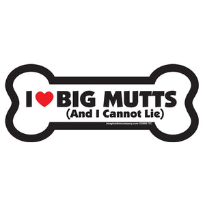 Bone Magnet - I Love Big Mutts