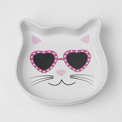 Diva Kitty Cat Saucer