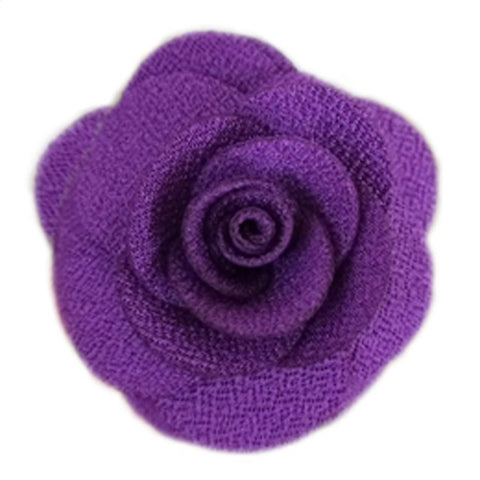 Hannah Flower Dog Collar Attachment - Purple