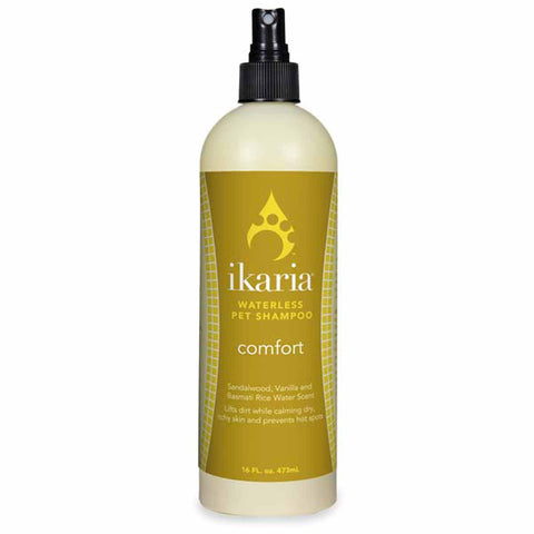 ikaria Waterless Pet Shampoo - Comfort