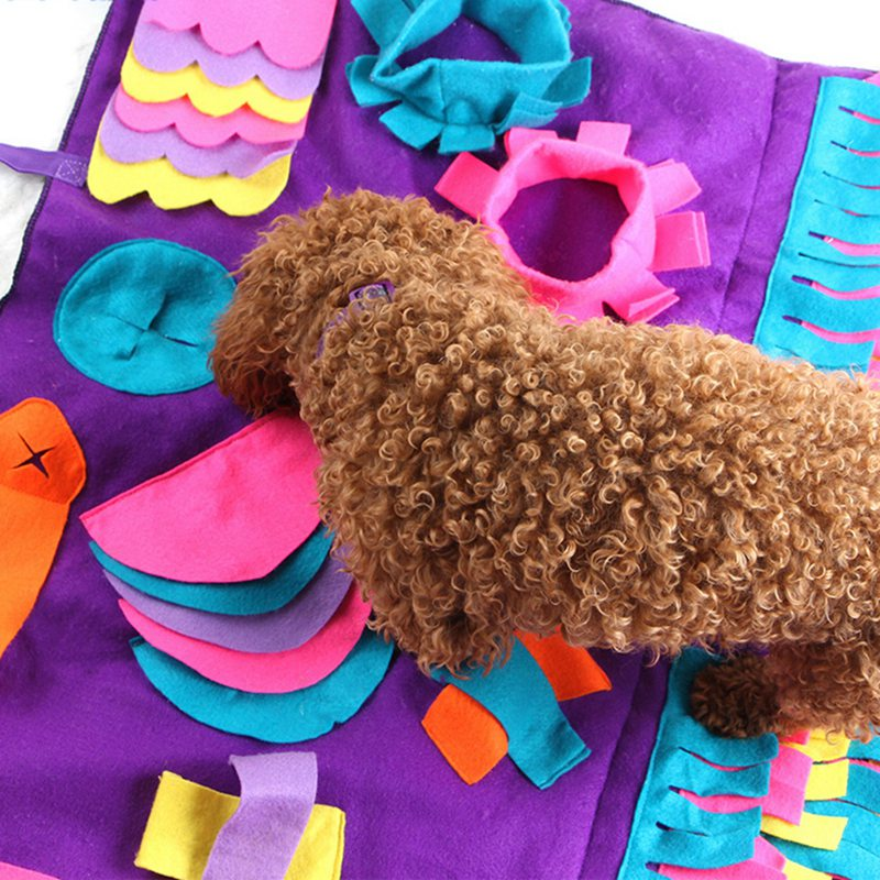 Dog Snuffle Mat Activity Training Blanket
