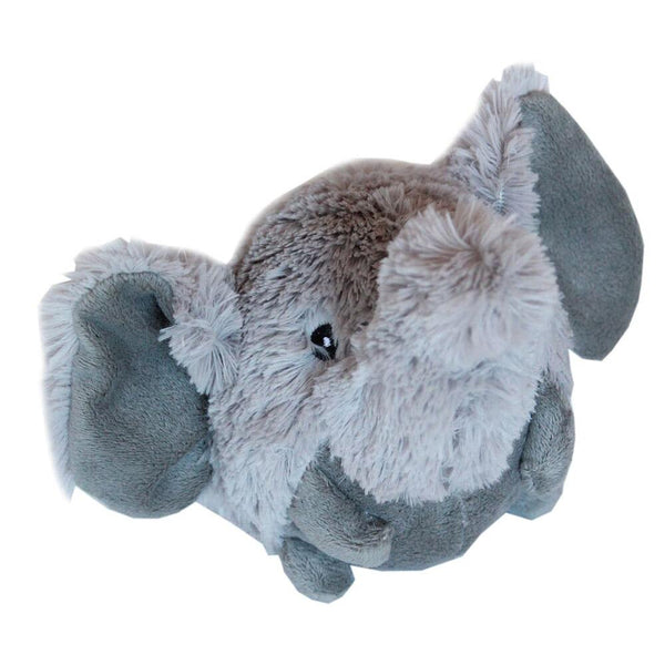 Roundimal Squeaky Dog Toy - Elephant