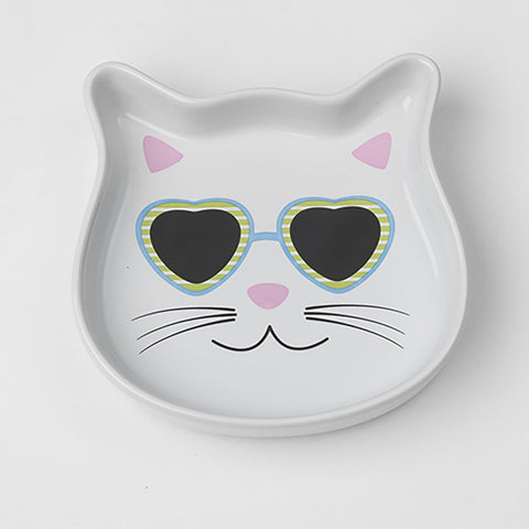 Stud Kitty Cat Saucer