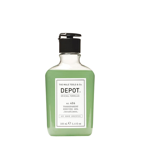 406. TRANSPARENT SHAVE GEL 100ML