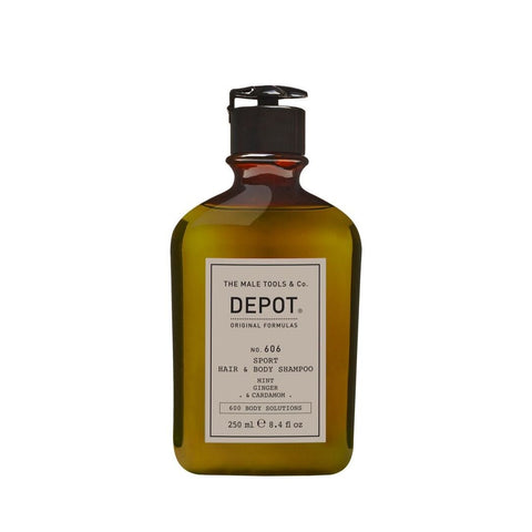 depot sport hair and body shampoo