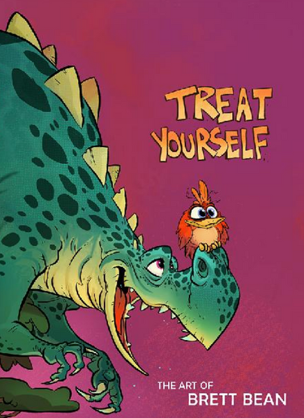 Treat Yourself! The Art of Brett Bean 2019 Sketchbook is Here!