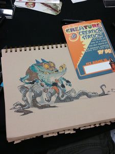 Creature Creation Station Commission