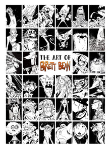 MONSTER EDITION! of The Art of Brett Bean - 2019 Art Book