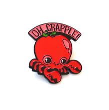 Load image into Gallery viewer, Oh Crapple! Enamel Pin