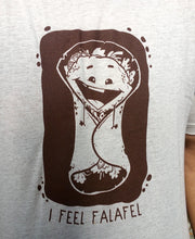 Load image into Gallery viewer, I Feel Falafel Oatmeal T-shirt