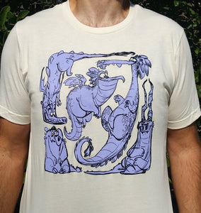 Dragons Soft Cream T-shirt
