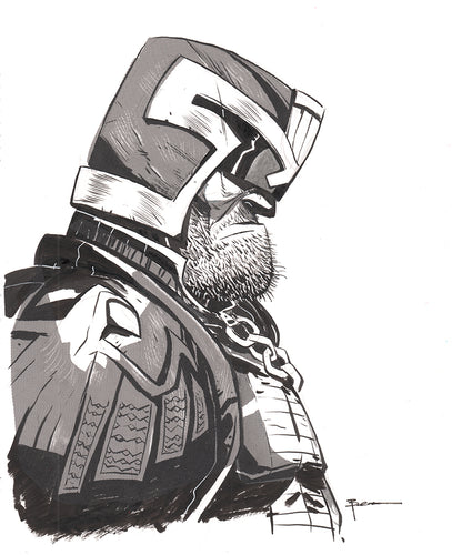 Judge Dredd  Original Art