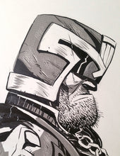 Load image into Gallery viewer, Judge Dredd  Original Art