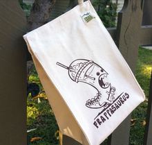 Load image into Gallery viewer, Frappasaurus Dinosaur Lunch Bag - Organic Cotton