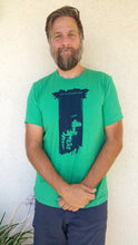 Load image into Gallery viewer, We Await the Velocirapture! Green T-shirt