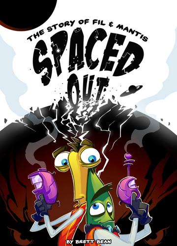 Spaced Out Graphic Novel by Brett Bean - Hardbound - 2014
