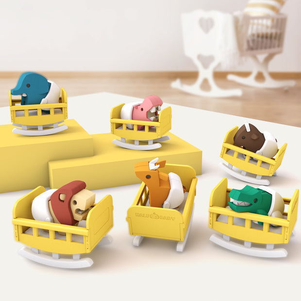 1st Halfbaby Animal Set (6-Pack)