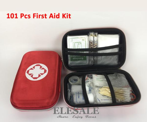 101 Pcs Waterproof First Aid Kit For Family Or Camping Travel - WildGearFactory
