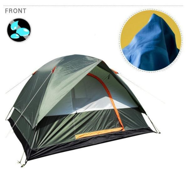 WEATHER RESISTANT OUTDOOR CAMPING TENT - WildGearFactory