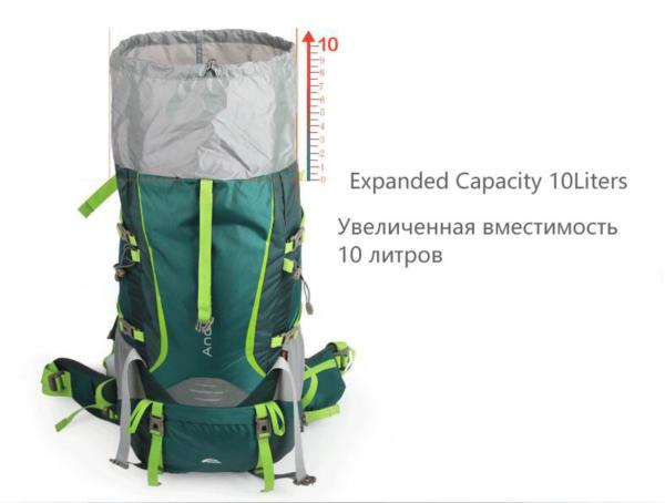 NEW!! BACKPACK 70L HIKING FOR MEN WOMEN - WildGearFactory