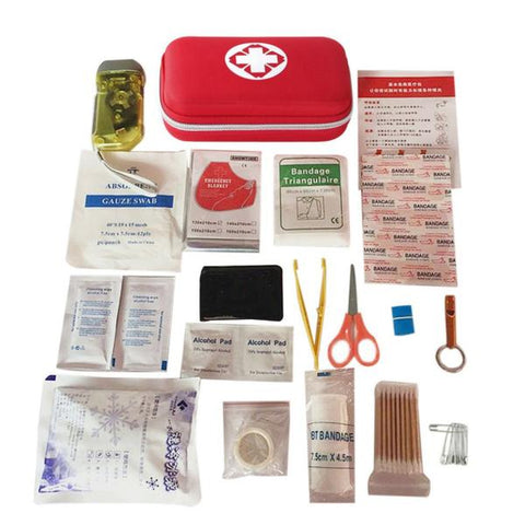 FIRST AID KIT CAMPING HIKING MEDICAL EMERGENCY - WildGearFactory