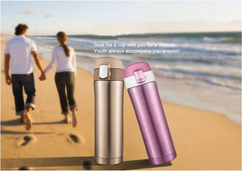 STAINLESS STEEL THERMOS  WITH INSULATED TUMBLER - WildGearFactory