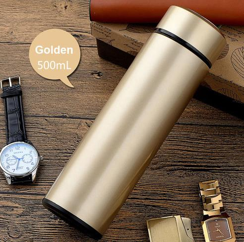 STAINLESS STEEL WATER BOTTLE FOR COLD/WARM DRINK 500ML - WildGearFactory