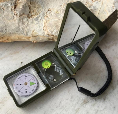 Compass Multifunction  10 in 1 Survival - WildGearFactory
