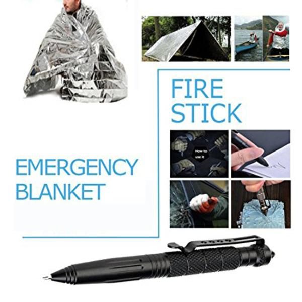 11 In 1 Survival kit First aid SOS EDC Emergency Supplies Tactical for Wilderness /Tri - WildGearFactory