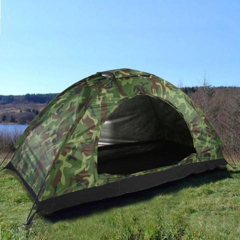 1-4 Person Portable Outdoor Camping Camouflage Tent - WildGearFactory
