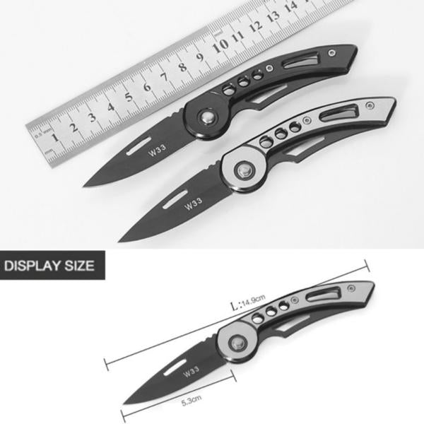 POCKET SURVIVAL KNIFE STAINLESS, BEST HUNTING TOOLS!! - WildGearFactory