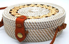 Load image into Gallery viewer, Rattan Bag - Waves