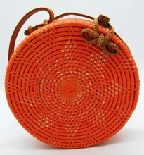 Load image into Gallery viewer, Rattan Bag - Sunrise Star