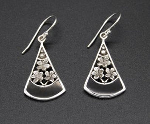 Earrings - A Touch of Black