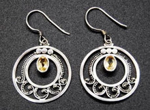Load image into Gallery viewer, Earrings - Citrine