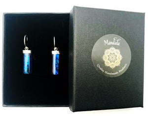 Earrings - Blue Lagoon - Mandala